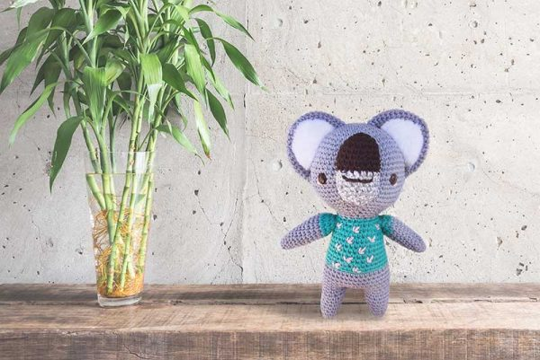 Koala Tejido a Crochet