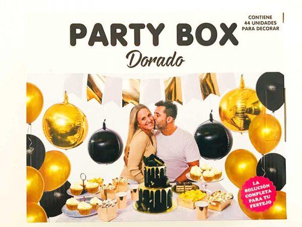 Party Box Dorado