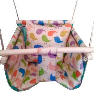 Hamaca para bebés de lona estampada